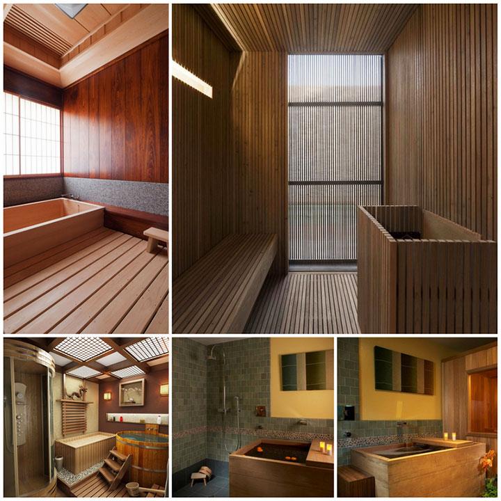 Банные помещения в стиле минимализм
