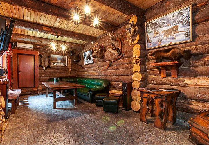 Баня в стиле шале