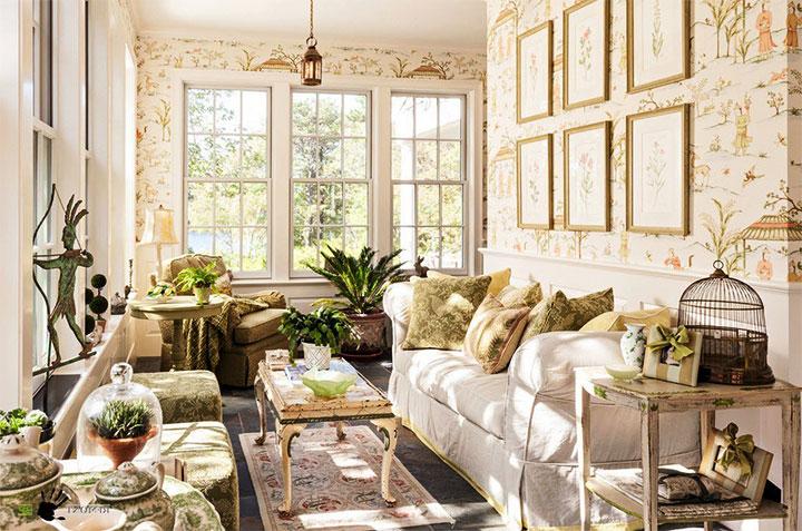 Гостевая комната в стиле прованс