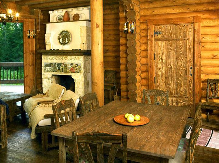 Использование деревенского стиля для оформления террасы