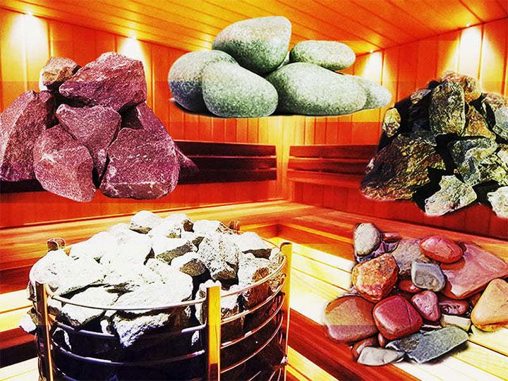 Виды камней для печки в баню