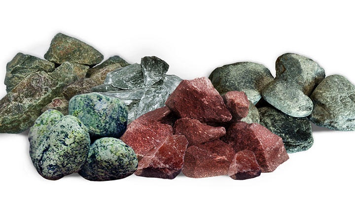 Камни для банных печей