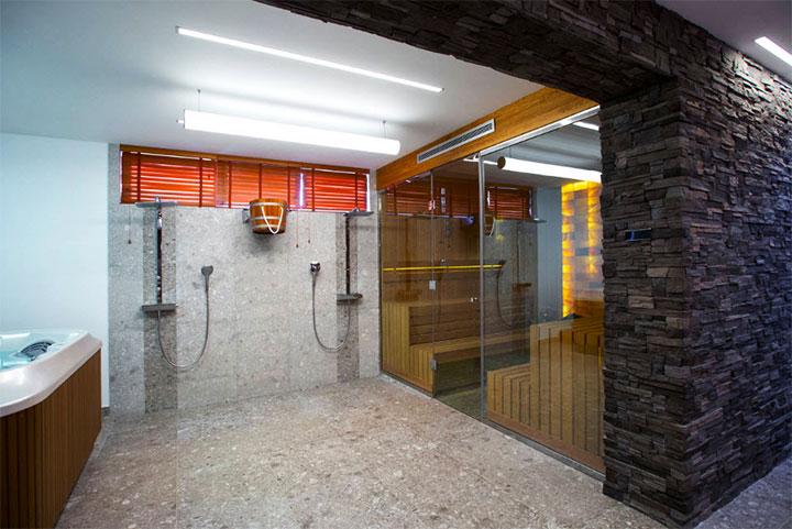 Отделка бани в современном стиле