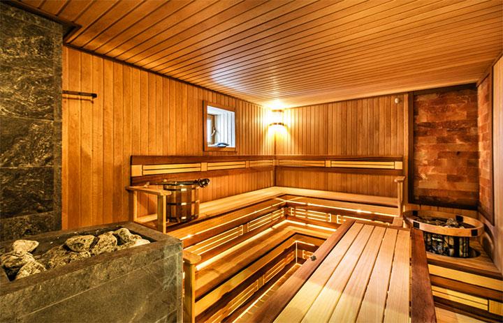 Парильное отделение в бане