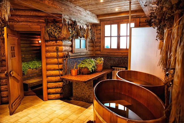 Дизайн русской бани