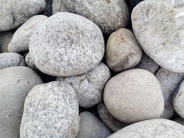 Засыпка для печи-каменки из гальки