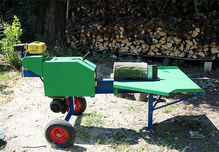Электромеханическое приспособление для колки дров ART