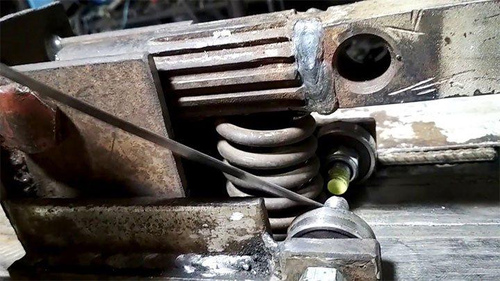 Изготовление механического дровокола своими руками