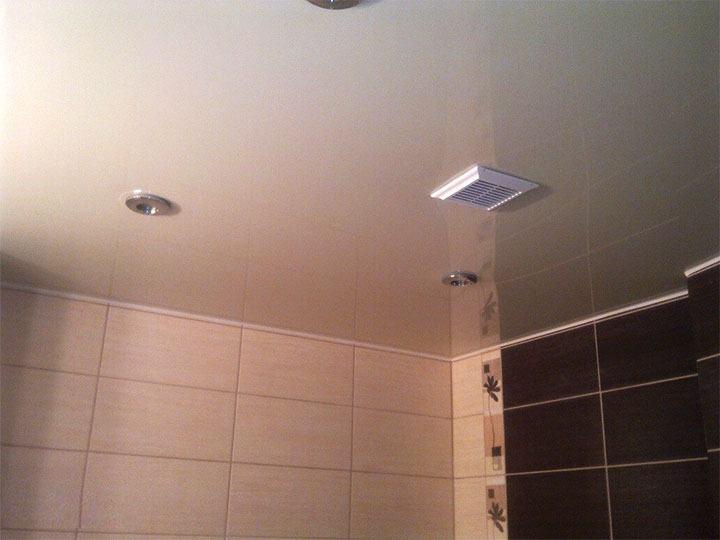 Принудительная вентиляция на потолке