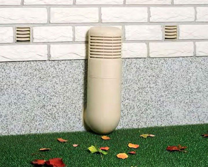 Вентилирование цокольного этажа
