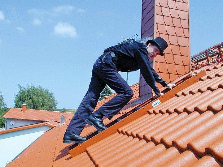 Трубочист на крыше