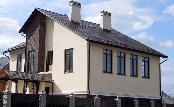 Отделка наружных стен частного дома