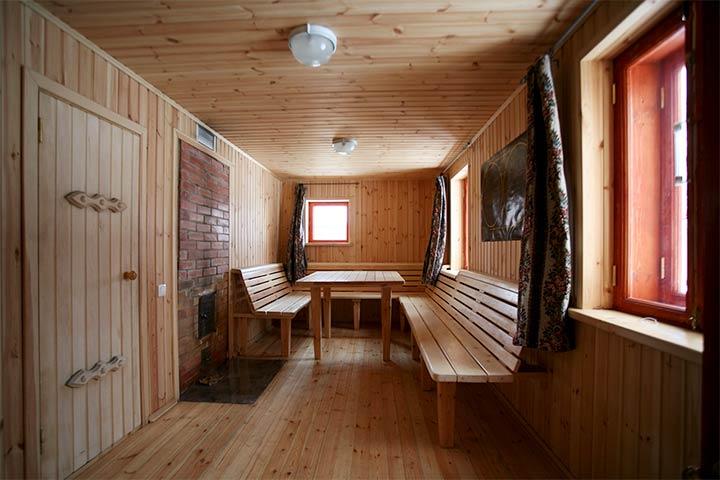 Банная комната для отдыха