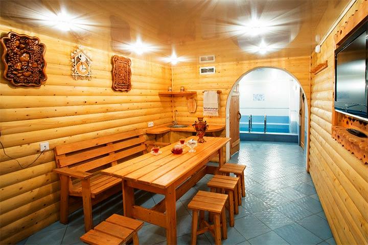 Комната отдыха в русской бане