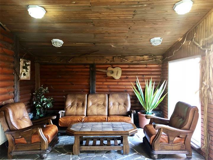 Оформления интерьера места для отдыха в сауне