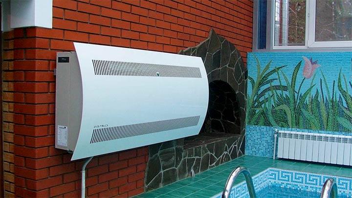 Осушитель воздуха для помещения с бассейном