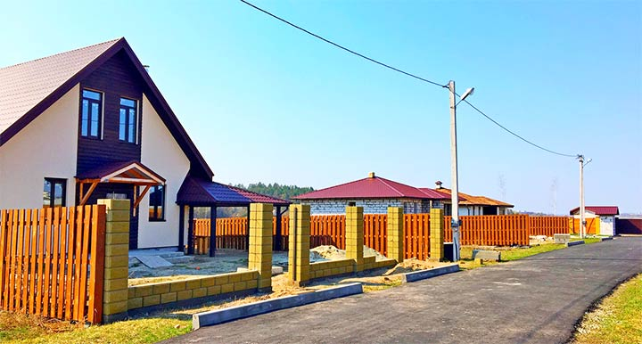 Строительство дачного поселка
