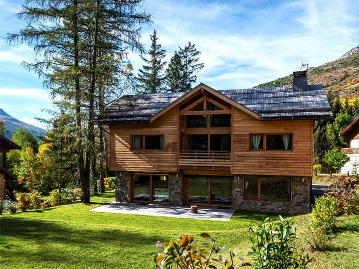 Частный дом в альпийском стиле