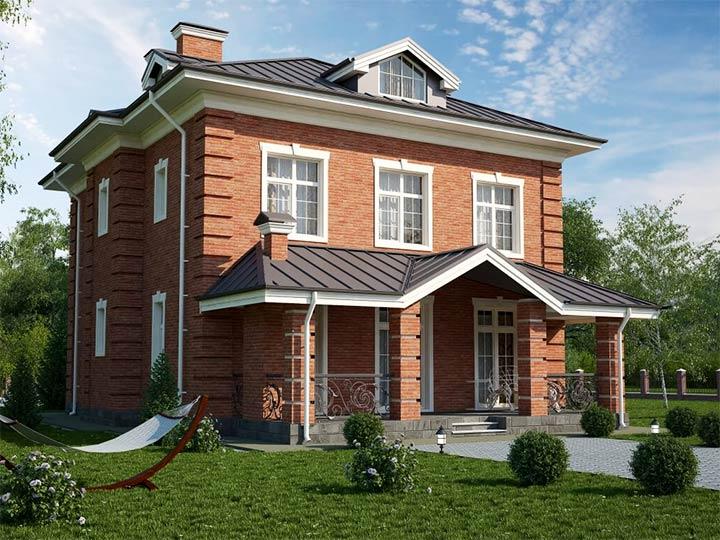 Частный дом в английском стиле