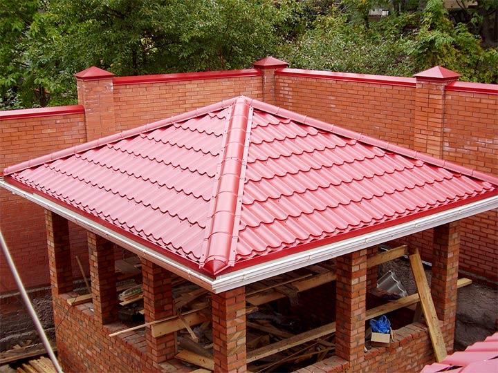 Крыша для беседки